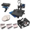 "HPN Black Series 8-in-1 15"" x 15"" Multifunction Heat Press Transfer Machine"