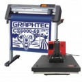 Graphtec CE6000 60 or 120 PLUS Vinyl Cutting Plotter with FREE Heat Press