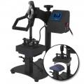 HPN Black Series Cap & Label Combo Auto-Open Heat Press Transfer Machine