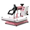 "Heat Press Nation CraftPro 12"" x 15"" Swing Away Crafting Transfer Machine : Pink"